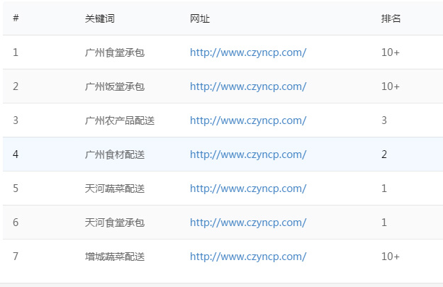 上海关键词排名优化案例